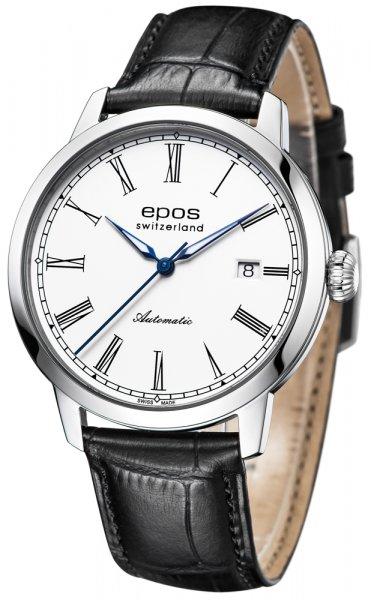 Zegarek męski Epos originale 3432.132.20.20.25 - duże 1