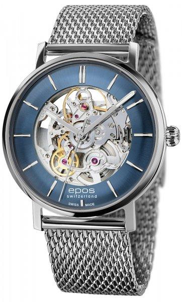 Zegarek męski Epos originale 3437.135.20.16.30 - duże 1