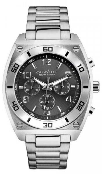 Zegarek damski Caravelle bransoleta 43A120 - duże 1