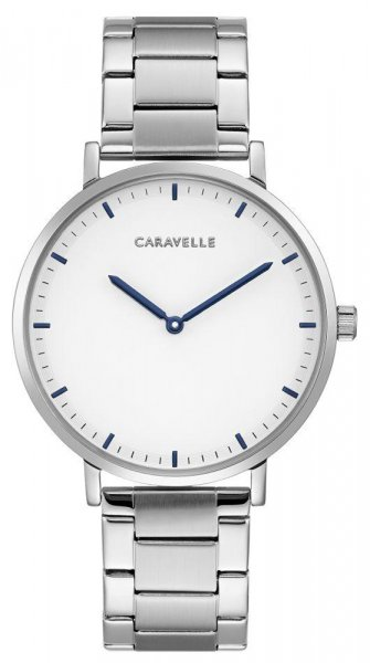 Zegarek damski Caravelle bransoleta 43A150 - duże 1