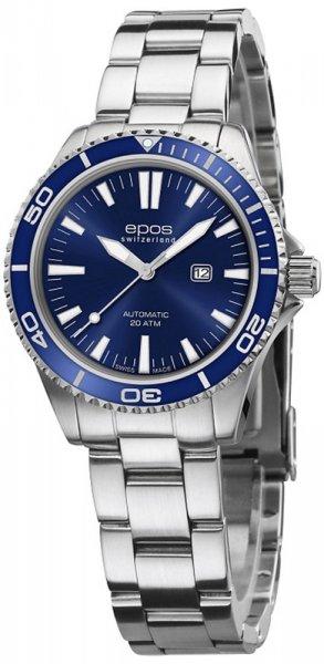 Zegarek damski Epos ladies 4413.121.96.16.30 - duże 1