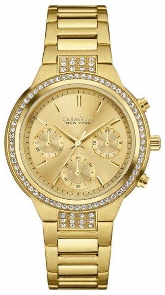 Zegarek damski Caravelle bransoleta 44L179 - duże 1