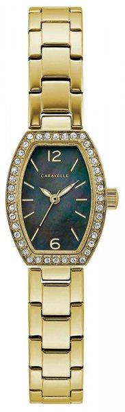 Zegarek damski Caravelle bransoleta 44L246 - duże 1