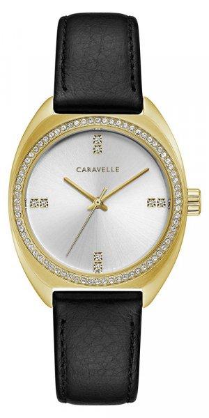 Zegarek damski Caravelle pasek 44L249 - duże 1