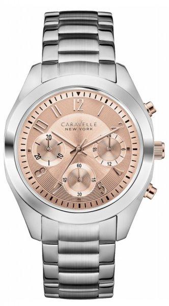 Zegarek damski Caravelle bransoleta 45L143 - duże 1