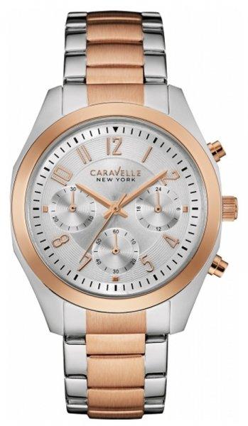 Zegarek damski Caravelle bransoleta 45L149 - duże 1