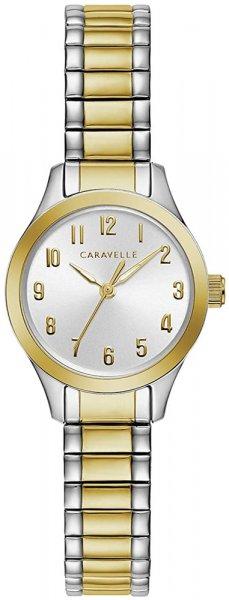 Zegarek damski Caravelle bransoleta 45L177 - duże 1