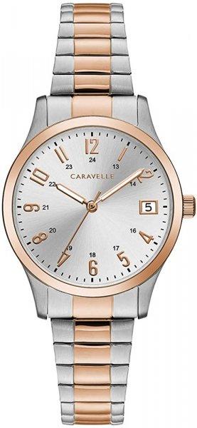 Zegarek damski Caravelle bransoleta 45L183 - duże 1