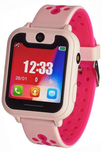 Garett 5903246281989 Dla dzieci Smartwatch Garett Kids Nice różowy