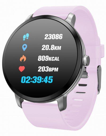 5903246282665 Garett Smartwatch Garett Sport 24 różowy - duże 3