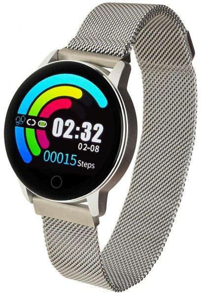 Garett 5903246286311 Damskie Smartwatch Garett Lady Bella srebrny stalowy