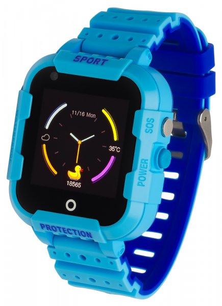 5903246286793 Garett Damskie Smartwatch Garett Kids Star 4G RT niebieski - duże 3