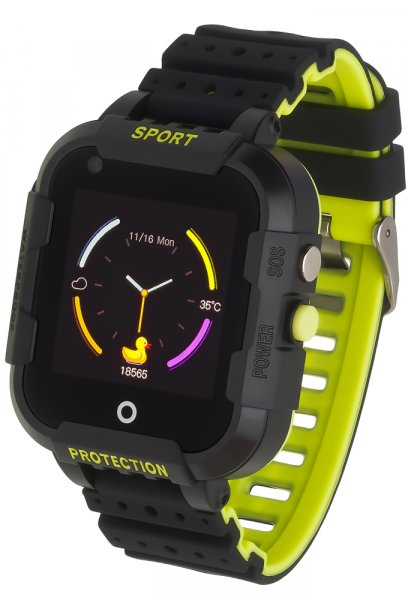Garett 5903246286809 Dla dzieci Smartwatch Garett Kids Star 4G RT czarny