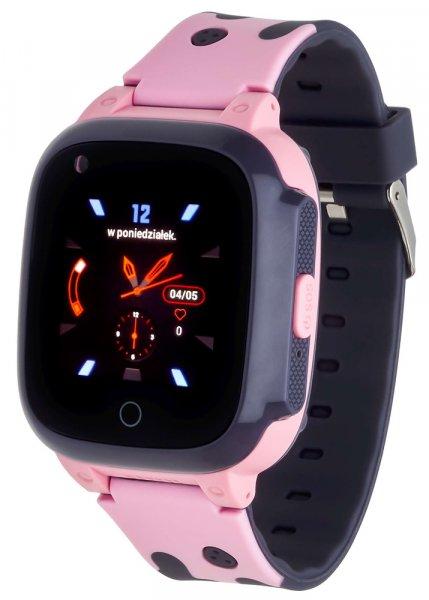 5903246286854 Garett Smartwatch Garett Kids Spark 4G różowy - duże 3