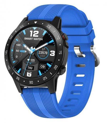 Garett 5903246287028 Męskie Smartwatch Garett Multi 4 Sport RT niebieski