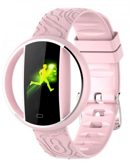 Garett 5903246287196 Damskie Smartwatch Garett Women Nicole RT różowy