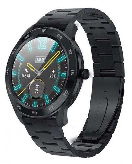 Garett 5903246287325 Męskie Smartwatch Garett GT22S RT czarny stalowy