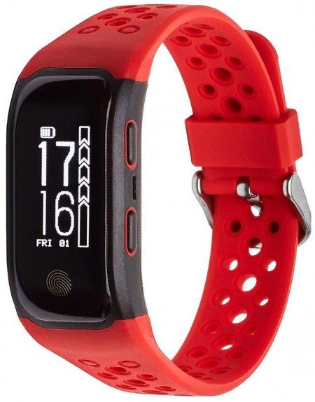 Garett 5906874848760 Smartbandy - Opaski sportowe Smartband Opaska Sportowa Garett FIT 20 GPS Czerwony