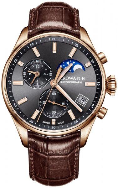 Aerowatch 78990-RO02 Les Grandes Classiques LES GRANDES CLASSIQUES CHRONOGRAPH