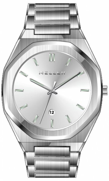 Zegarek Meller 8PP-3.2SILVER - duże 1