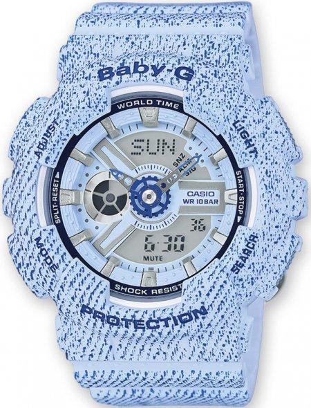 Baby-G BA-110DC-2A3ER Baby-G Denim Series