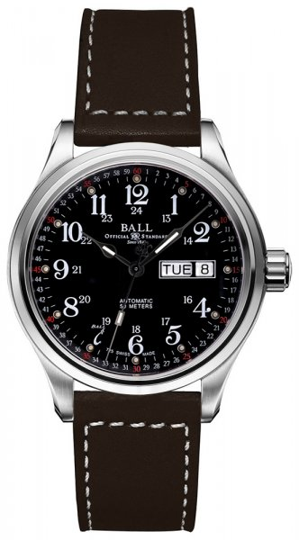 Ball NM1058D-L3J-BK Trainmaster Trainmaster Automatic 60 Seconds