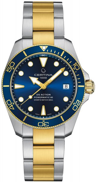 Certina C032.807.22.041.10 DS Action DS Action Diver 38mm Powermatic 80 Sea Turtle Conservancy Specia