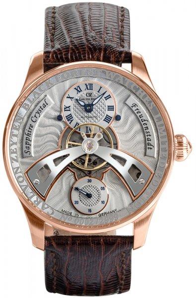 Zegarek Carl von Zeyten CVZ0043RG - duże 1