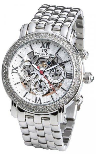 Zegarek Carl von Zeyten CVZ0062WHMB - duże 1