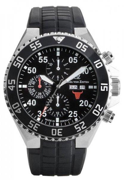 Zegarek Carl von Zeyten CVZ0067BK - duże 1