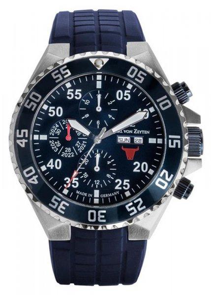 Zegarek Carl von Zeyten CVZ0067BL - duże 1