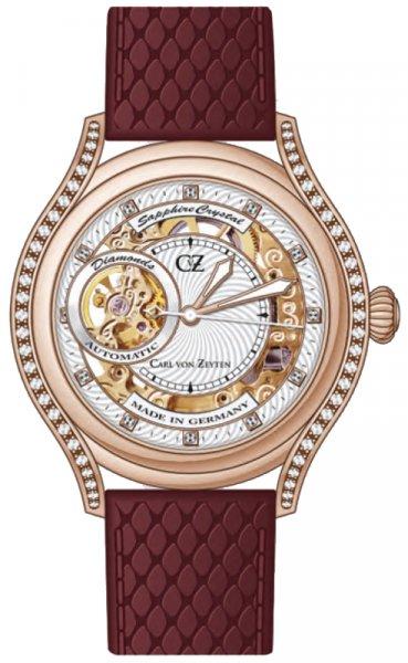 Zegarek Carl von Zeyten CVZ0069RWH - duże 1