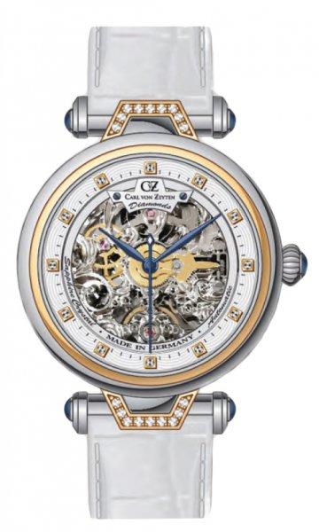 Zegarek Carl von Zeyten CVZ0070RWH - duże 1