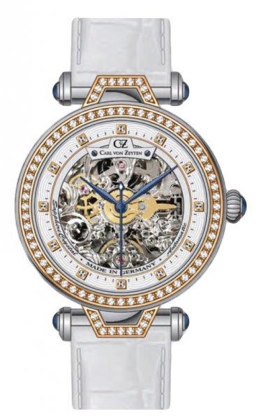 Zegarek Carl von Zeyten CVZ0071RWH - duże 1