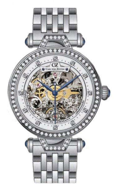 Zegarek Carl von Zeyten CVZ0071WHMB - duże 1