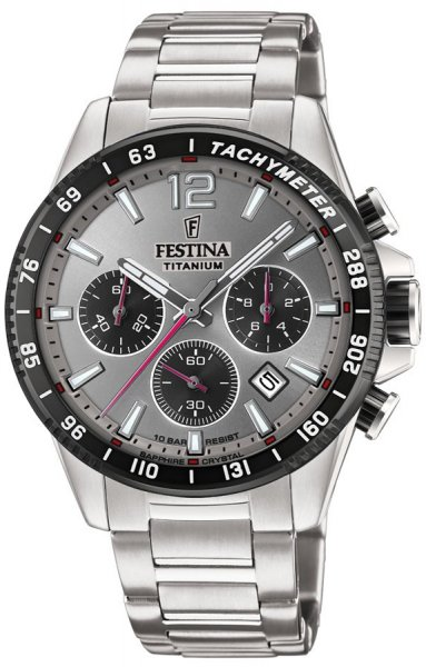 Festina F20520-3 Titanium Titanium Sport Chrono Sapphire