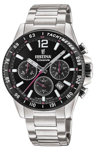 Festina F20520-4 Titanium Titanium Sport Chrono Sapphire