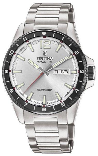 Festina F20529-1 Titanium Titanium Sport Sapphire