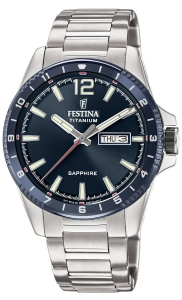 Festina F20529-2 Titanium Titanium Sport Sapphire
