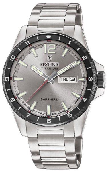 Festina F20529-3 Titanium Titanium Sport Sapphire