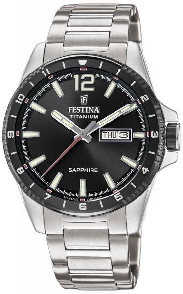Festina F20529-4 Titanium Titanium Sport Sapphire