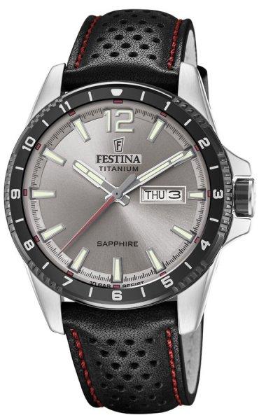 Festina F20530-3 Titanium Titanium Sport Sapphire