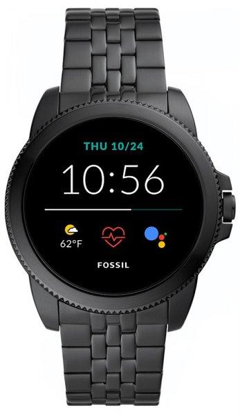 Fossil Smartwatch FTW4056 Fossil Q GEN 5E SMARTWATCH - BLACK STEEL