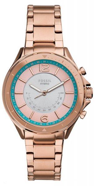 Zegarek damski Fossil hybrid smartwatch FTW5080 - duże 1