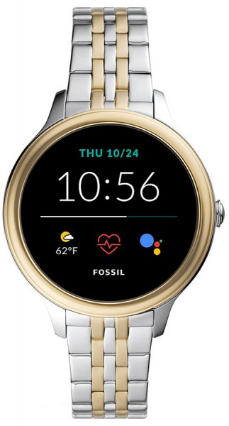 Fossil Smartwatch FTW6074 Fossil Q GEN 5E SMARTWATCH - TWO TONE