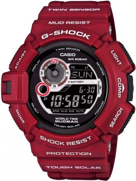G-9300RD-4ER  G-SHOCK Master of G Mudman - duże 3