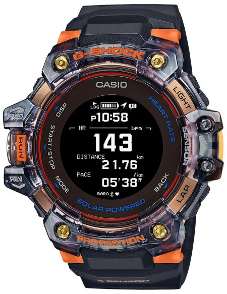 G-Shock GBD-H1000-1A4ER G-SHOCK Original G-SQUAD Heart Rate Monitor Bluetooth