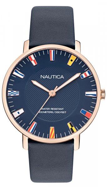 Zegarek męski Nautica pasek NAPCRF907 - duże 1