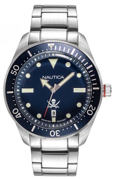 Zegarek męski Nautica bransoleta NAPHCP905 - duże 1