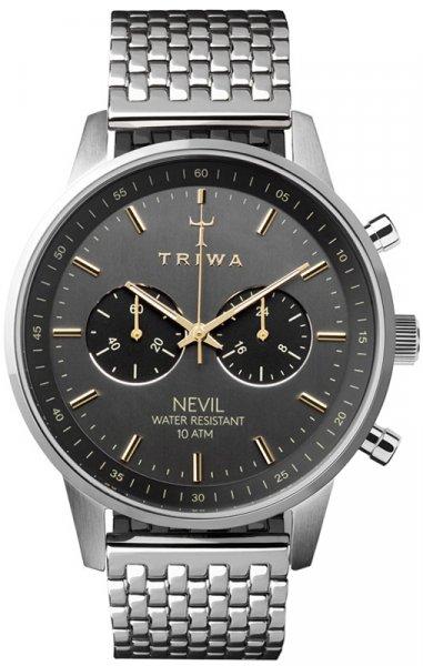 Triwa NEST114-BR021212 Nevil SMOKY NEVIL - STEEL BRACE